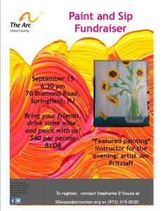 Paint and Sip Flyer